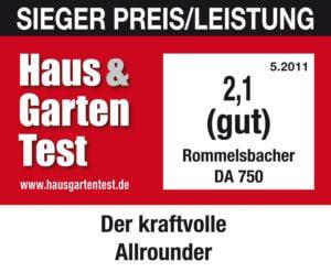 Rommelsbacher DA 750 Dörrgerät Test
